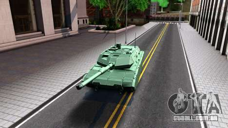 Leopard 2A7 para GTA San Andreas esquerda vista