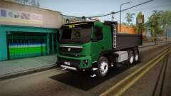 Volvo FMX descarga de Caminhão