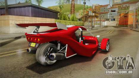GTA 5 BF Raptor para GTA San Andreas