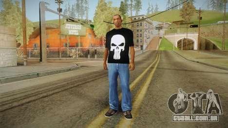Crânio t-shirt para GTA San Andreas