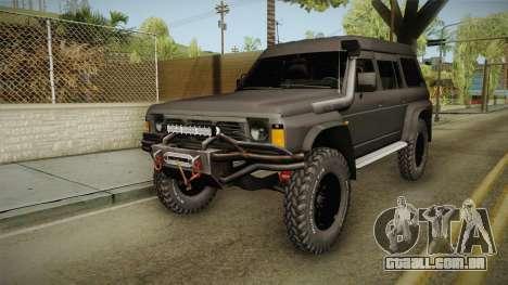 Nissan Safari Y60 para GTA San Andreas
