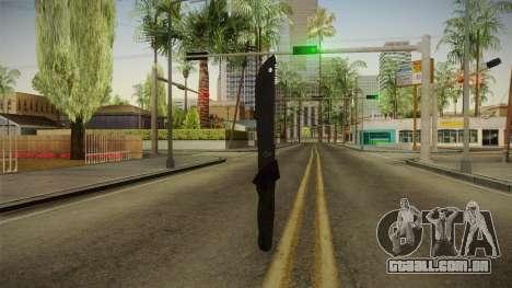 Support Knife para GTA San Andreas