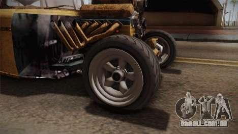 GTA 5 Declasse Tornado Rat Rod para GTA San Andreas