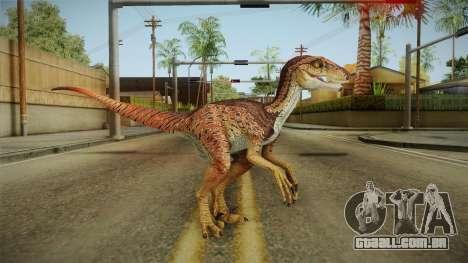 Primal Carnage Velociraptor Alpha para GTA San Andreas