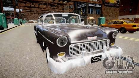 Chevrolet BelAir Sport Coupé De 1955 para GTA 4