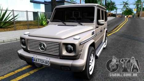 Mercedes-Benz G500 v2.0 para GTA San Andreas