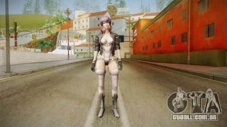Ghost In The Shell First Assault - Motoko v1 para GTA San Andreas