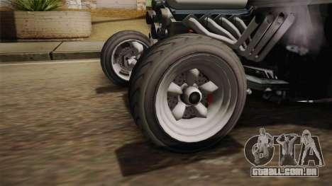 GTA 5 Declasse Tornado Rat Rod Cleaner IVF para GTA San Andreas