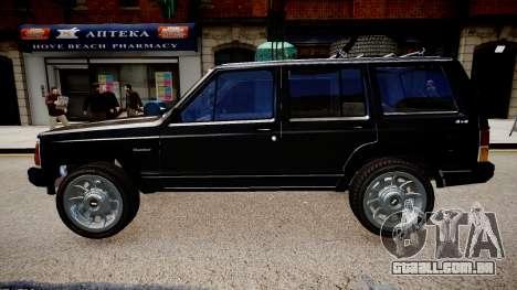Jeep Cherokee 1992 para GTA 4