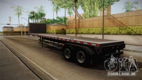 GTA 5 Log Trailer v1 IVF para GTA San Andreas