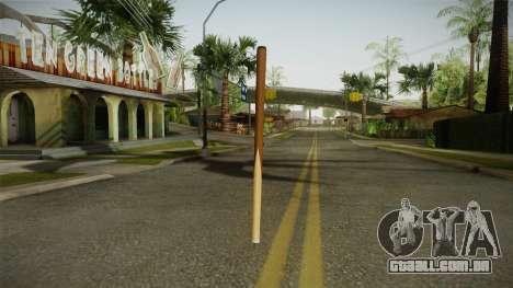GTA 5 Bikers Poolcue para GTA San Andreas