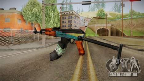 AK47 SU Wingshould para GTA San Andreas