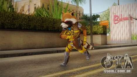 Marvel Future Fight - Rocket Raccon (ANAD) para GTA San Andreas