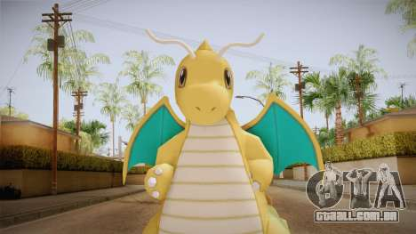 Pokémon XY - Dragonite para GTA San Andreas