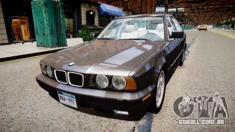 BMW 540i E34 para GTA 4