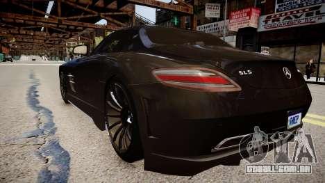 Mercedes Benz SLS Threep Edition para GTA 4