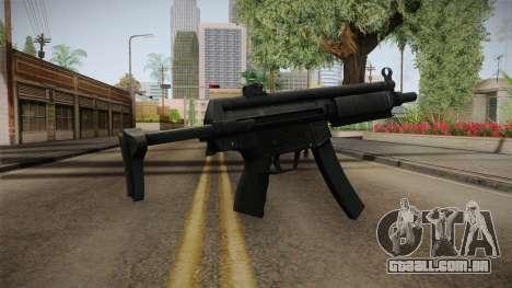 Hidden MP5 para GTA San Andreas