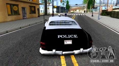 Hermes Classic Police Los-Santos para GTA San Andreas