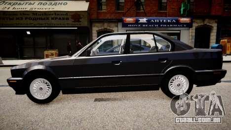 BMW 535i E34 ShadowLine v.3.0 para GTA 4