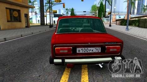 VAZ 2106 Resto para GTA San Andreas