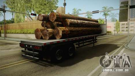 GTA 5 Log Trailer v3 para GTA San Andreas