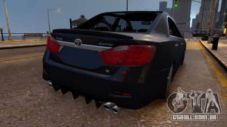 Toyota Camry V50 Stock para GTA 4