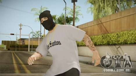 O bandido mascarado para GTA San Andreas