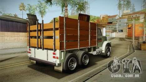 GTA 5 Vapid Scrap Truck Cleaner v2 IVF para GTA San Andreas