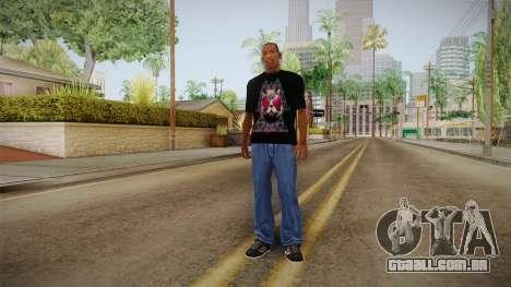 3D Space Cat T-Shirt para GTA San Andreas
