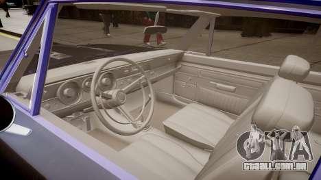 Plymouth Barracuda Formula S para GTA 4