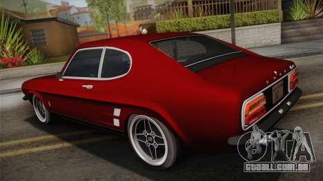 Ford Capri RS3100 1973 para GTA San Andreas