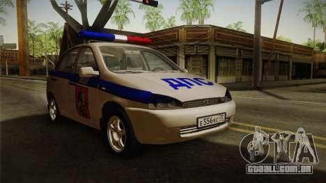 VAZ 1119 DPS para GTA San Andreas
