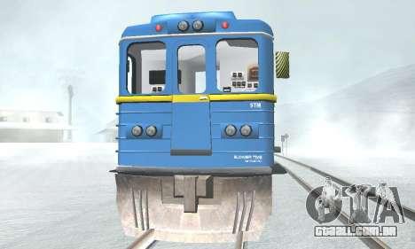 Vagão tipo, EMAG 81-502 0001 para GTA San Andreas