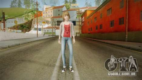 Life Is Strange - Max Caulfield Red Shirt v2 para GTA San Andreas