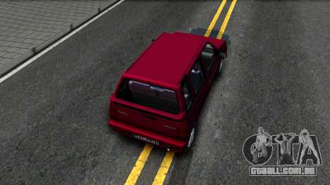 Daewoo Tico SX UZB EXCLUSIVE para GTA San Andreas