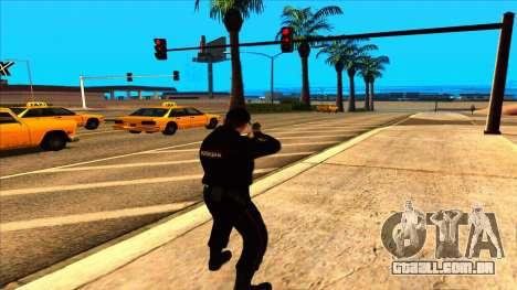 Membro do PPP no verão uniforme do novo exemplo  para GTA San Andreas