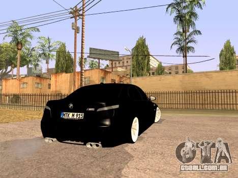 BMW M5 E60 Facelift para GTA San Andreas