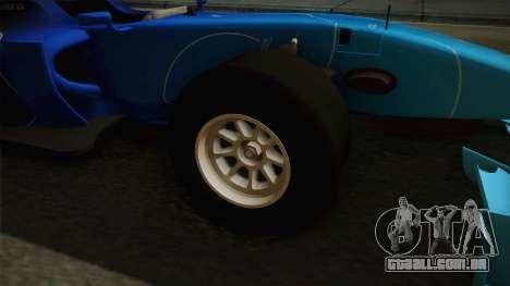 F1 Lotus T125 2011 v2 para GTA San Andreas