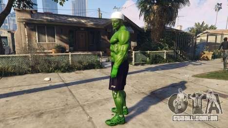 The Hulk human eyes para GTA 5