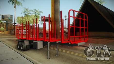 Double Trailer Timber Brasil v1 para GTA San Andreas