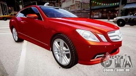 Mercedes-Benz E500 Coupe para GTA 4