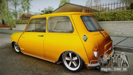 Mini Cooper S 1965 Lowered para GTA San Andreas