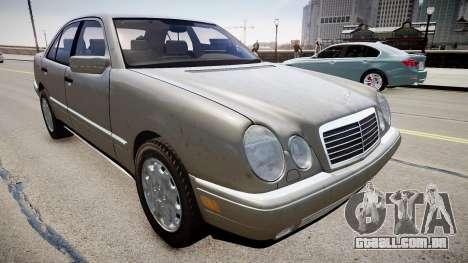 Mercedes E280 w210 1998 para GTA 4