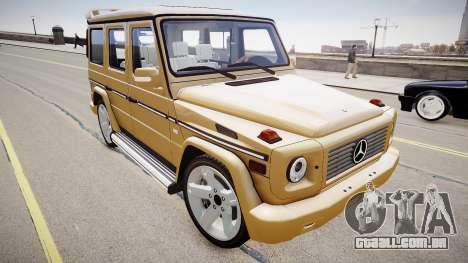 Mercedes-Benz G500 v.2.0 para GTA 4