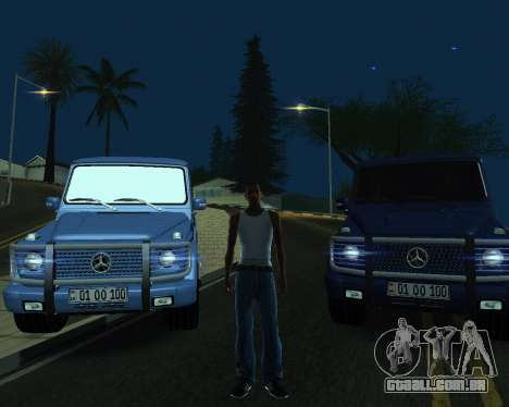 Mercedes Benz G500 Armenian para GTA San Andreas