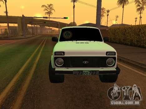 Niva 2121 Arménio para GTA San Andreas