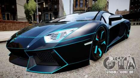Lamborghini Aventador TRON Edition para GTA 4