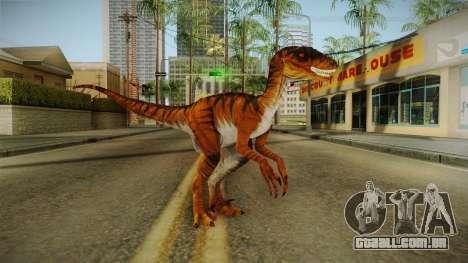 Primal Carnage Velociraptor Savage para GTA San Andreas