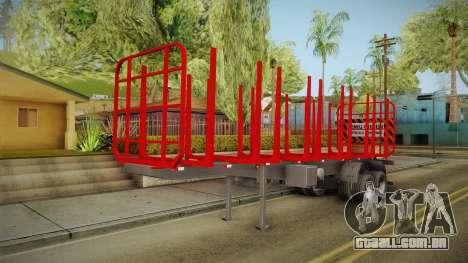 Double Trailer Timber Brasil v1 para GTA San Andreas vista direita