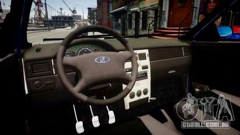 Lada Priora hatchback beta para GTA 4